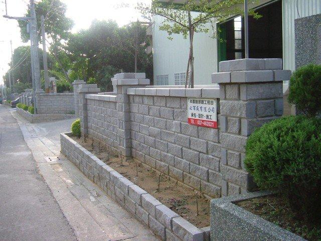 农村围墙设计图_图片素材