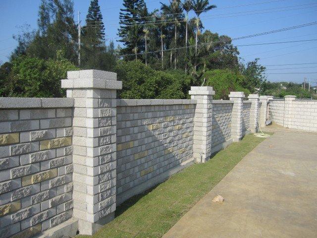 围墙大门效果图 幼儿园围墙效果图 高档小区景观效果图