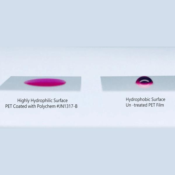Super Hydrophilic Film for Bio-Sensors