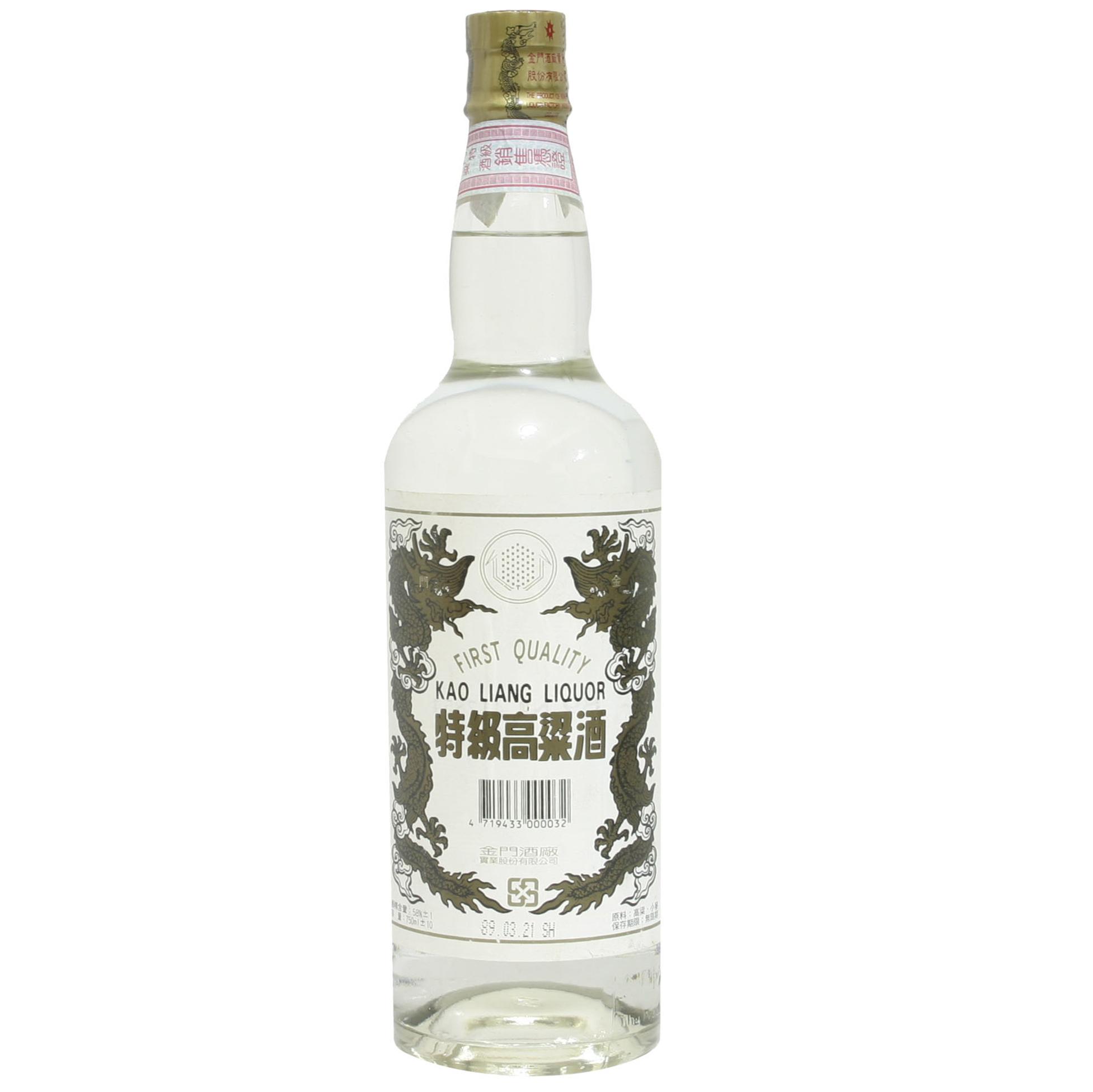 金門 特級高梁酒 (白金龍)