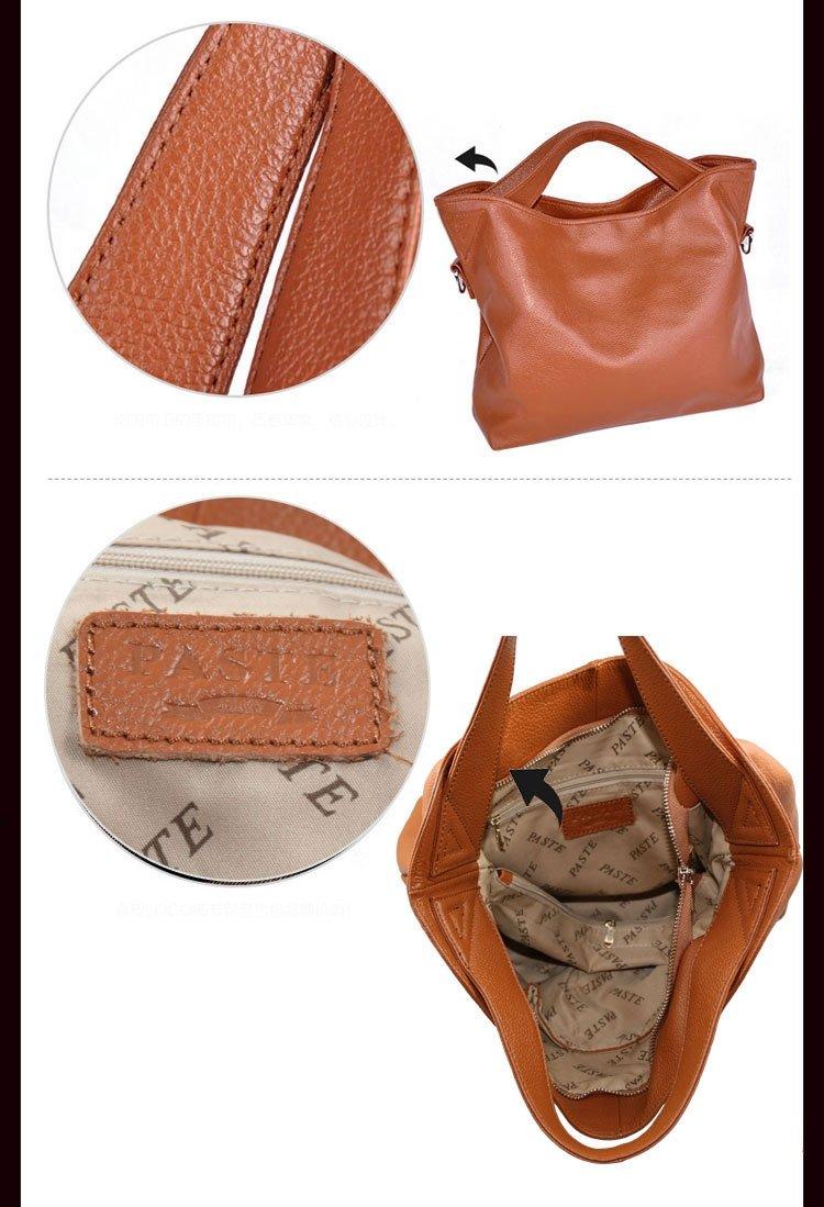 ritto韓版最新款手提肩背兩用真皮包(P1030203)