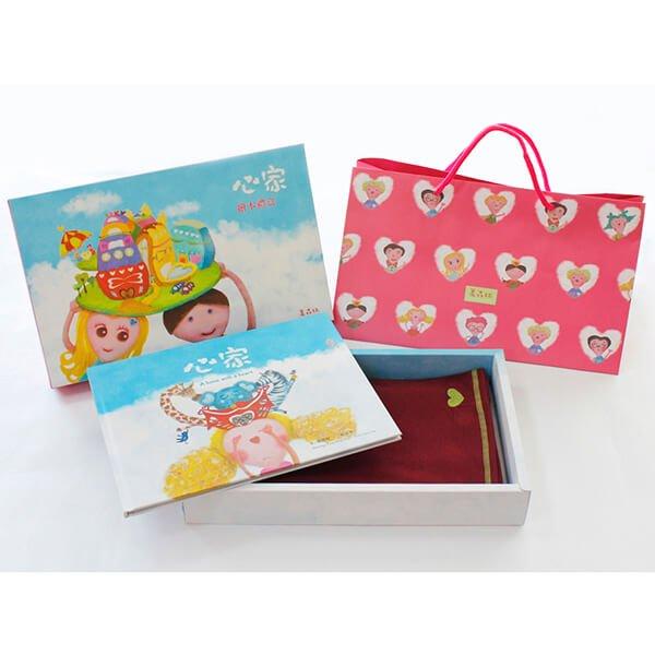 菓森林 圍巾禮物書禮盒