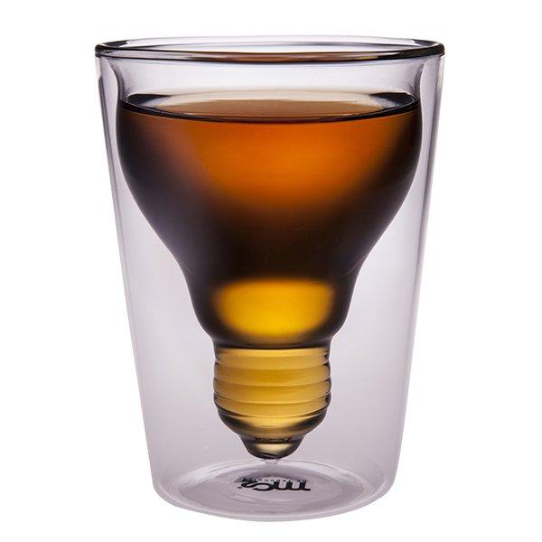 菓森林 燈泡杯中杯 雙層杯