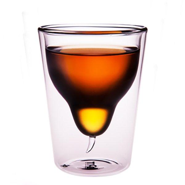 菓森林 雪梨杯中杯 雙層杯
