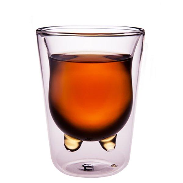 菓森林 乳牛杯中杯 雙層杯