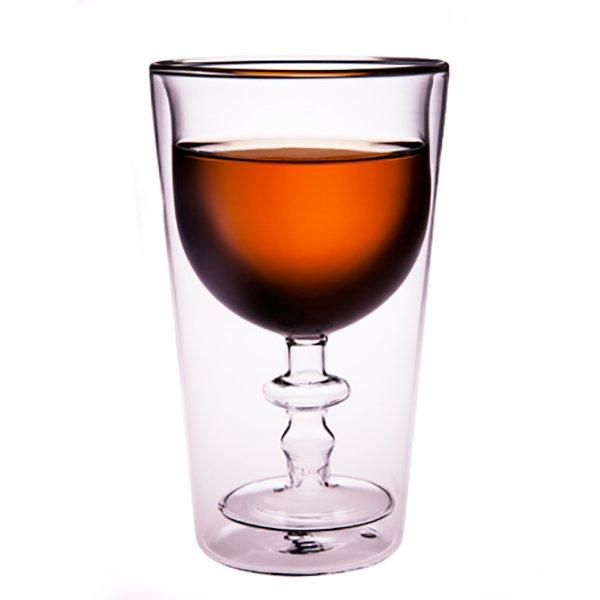 菓森林 紅酒杯中杯 雙層杯