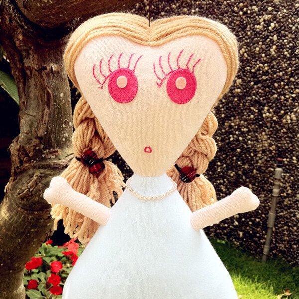 愛心人 布娃娃-MIMI