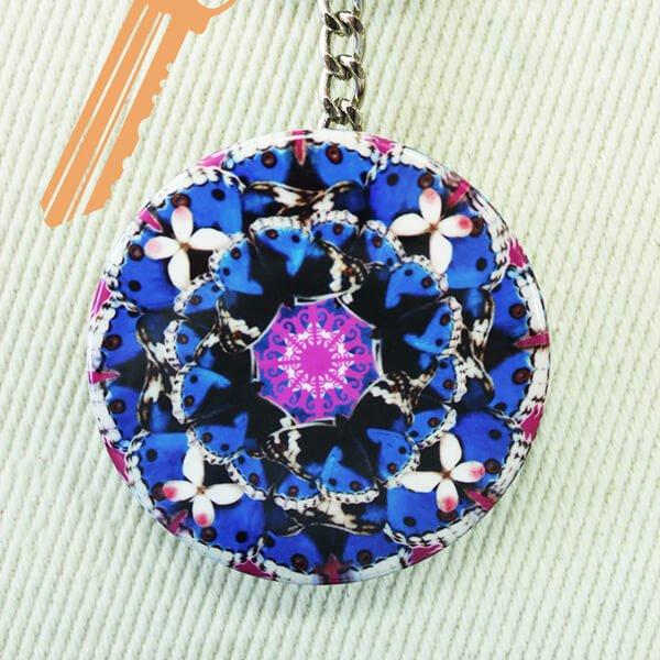 化妝鏡鑰匙圈-福疊台灣7