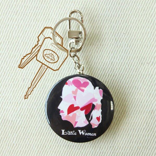 化妝鏡鑰匙圈-Little Women