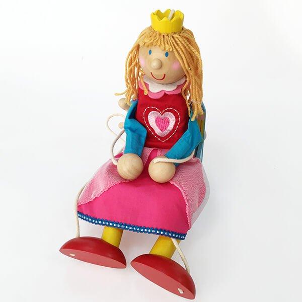 童話提線公主木偶娃娃❤ 感恩節、聖誕節、生日禮、兒童節
