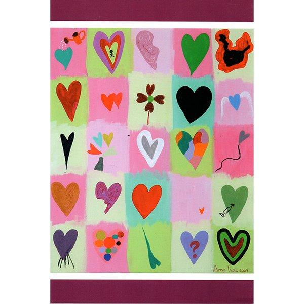檢測一下你的心 萬用卡片