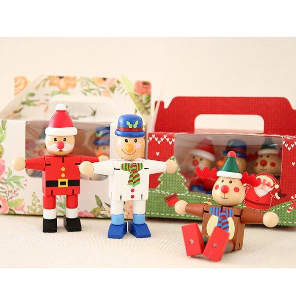 木製聖誕幸運擺飾組❤ 感恩節、聖誕節、生日禮