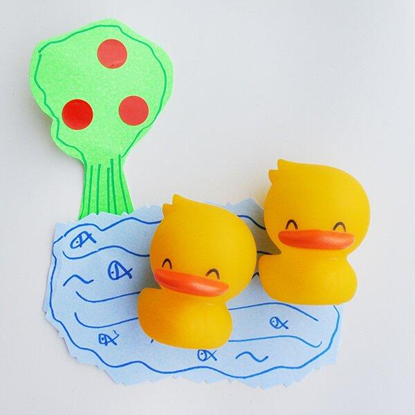 黃色小鴨 磁鐵組