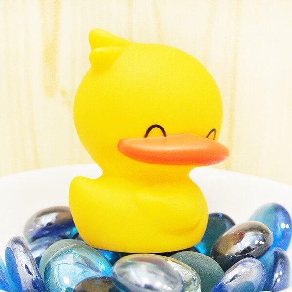 黃色小鴨 響音公仔