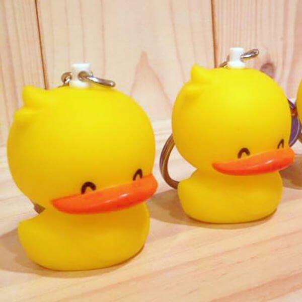 黃色小鴨 鑰匙圈