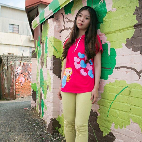 菓森林 飛翔吧!女孩T恤(完售)