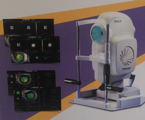 iTrace全方位屈光檢查系統