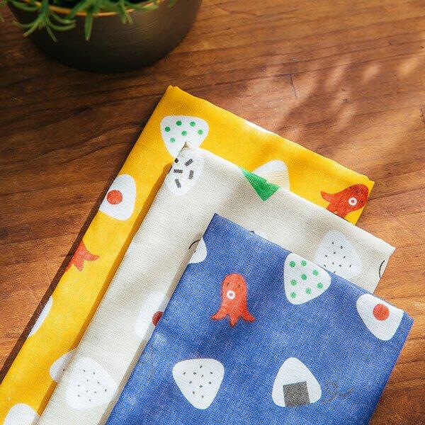 §獨具衣格§ 日本直送 H426 日本製 純棉 小飯糰印花毛巾