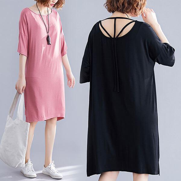 §獨具衣格§ J1874 韓系露背洋裝