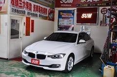 2014年 BMW 320i 總代理,全原廠保養,全車原鈑件,免鑰匙,換檔撥片,前置後驅,操控感佳,完美配重 台中中古車/