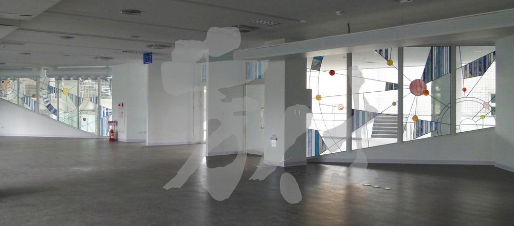 藝術玻璃-國立暨南國際大學附屬高級中學 聚知識