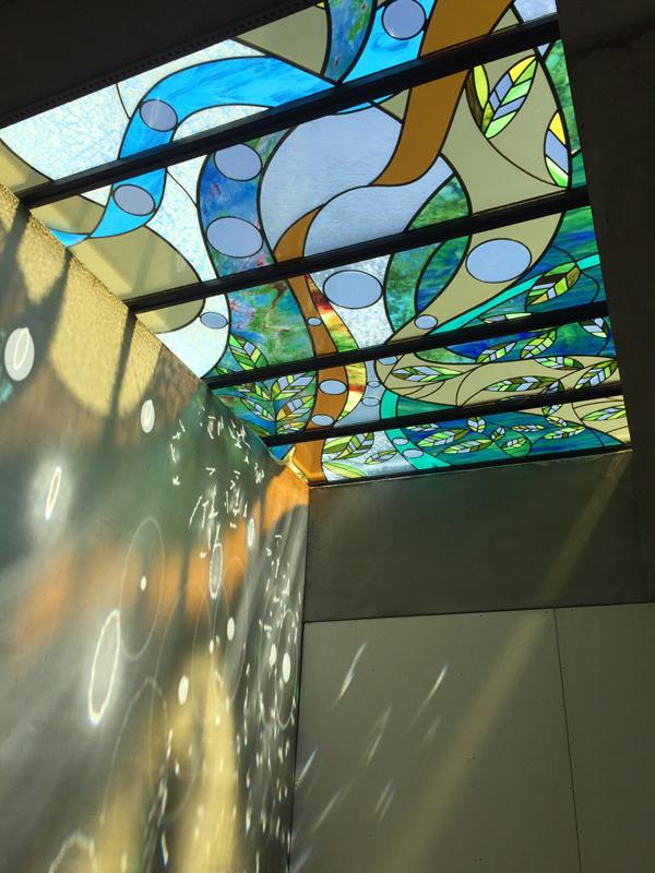 鑲嵌藝術玻璃-森之戀
