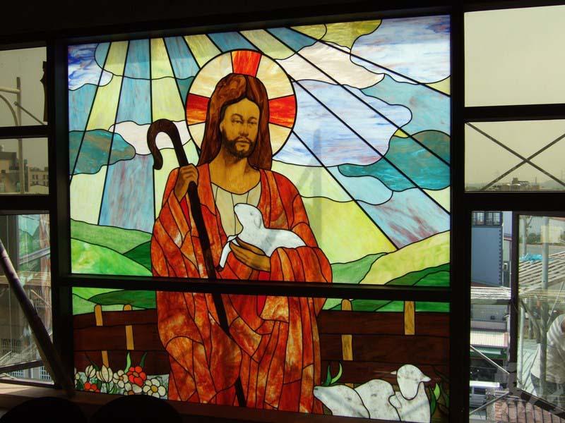 藝術玻璃-中洲教會