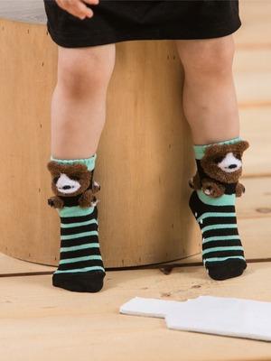 貝寶3D公仔襪- 調皮熊