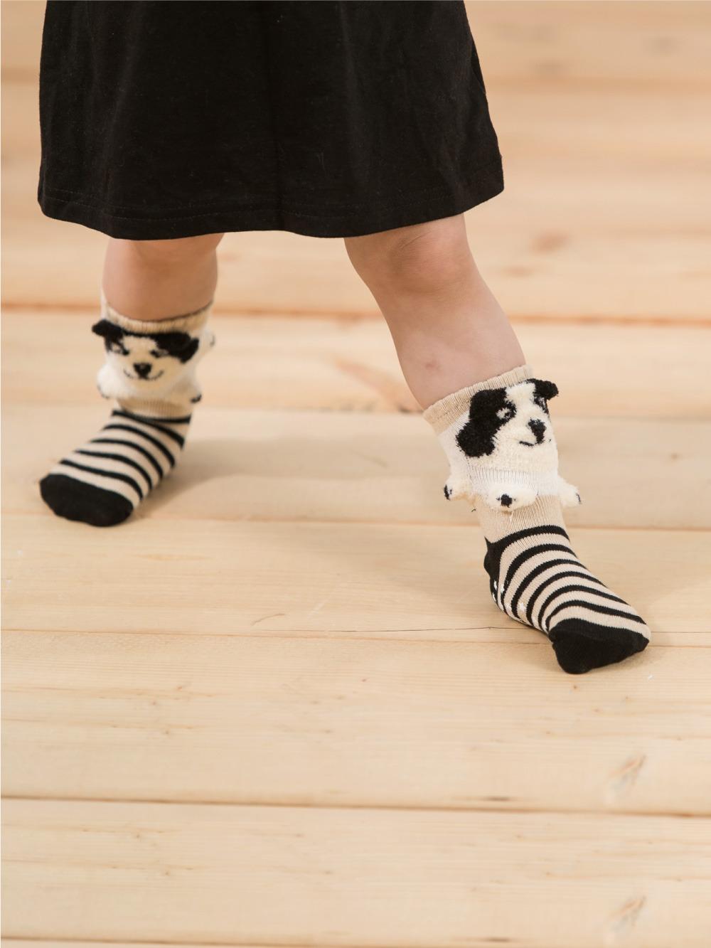 貝寶3D公仔襪-  汪汪狗
