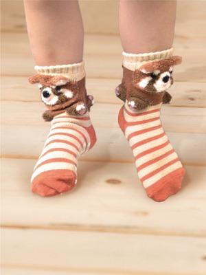 貝寶3D公仔襪- 酷浣熊