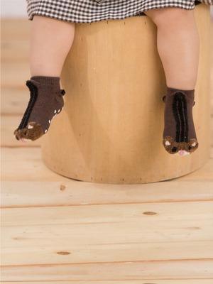 貝寶3D公仔襪-小栗鼠