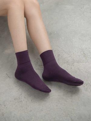 貝柔(女)Supima抗菌萊卡除臭襪-寬口短襪