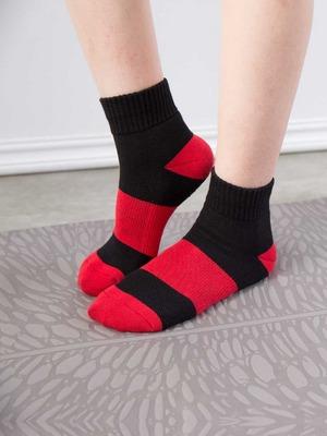 貝柔(女)Supima抗菌萊卡除臭襪-氣墊短襪