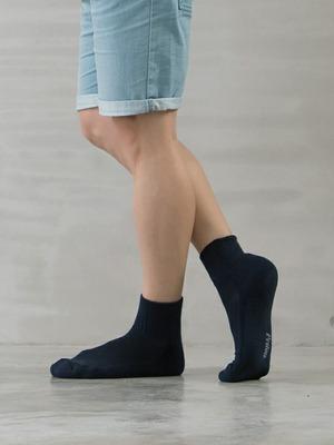 (單雙)(男)機能抗菌萊卡除臭襪-氣墊短襪