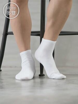 (10雙)Supima抗菌萊卡除臭襪-短襪(男學生)
