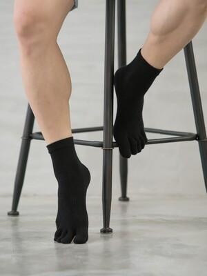 Supima抗菌機能除臭襪-短襪(五指襪)