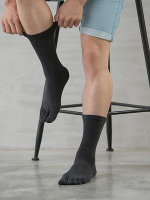 Supima抗菌機能除臭襪-長襪(五指襪)
