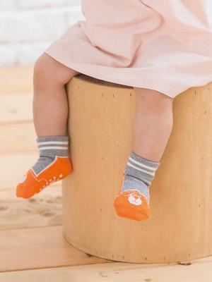 貝寶Supima寶寶襪(寬口)-理查熊