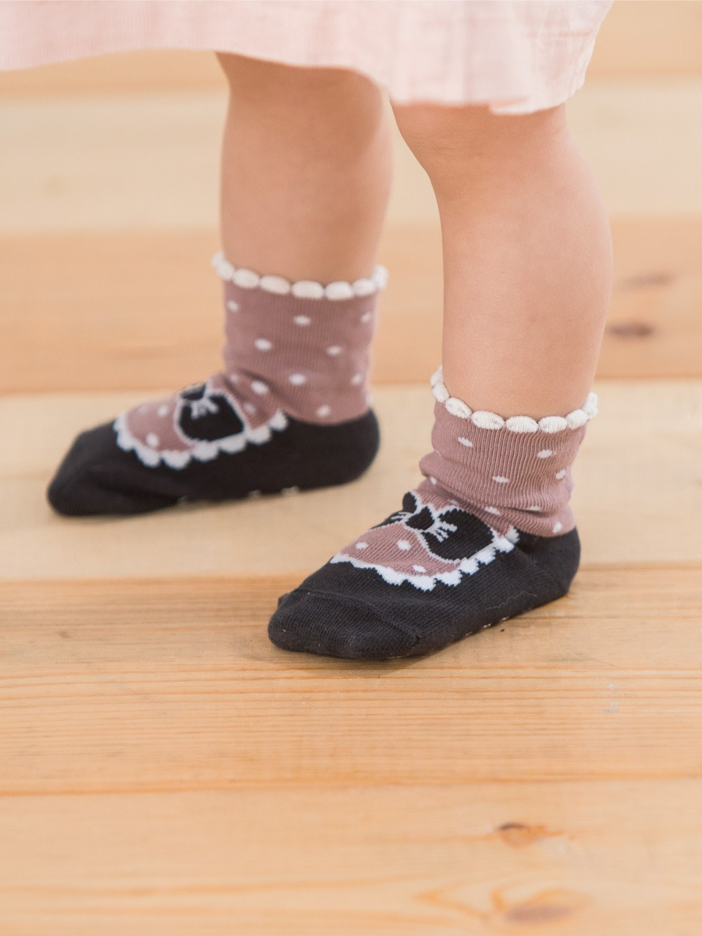 貝寶Supima寶寶襪(寬口)-小淑女