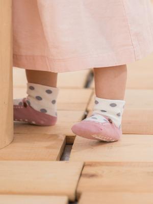 貝寶Supima寶寶襪(寬口)-大圓點