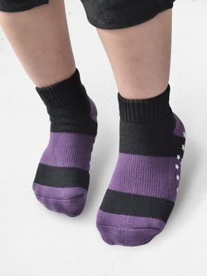 Supima機能抗菌萊卡除臭運動氣墊襪(兒童)
