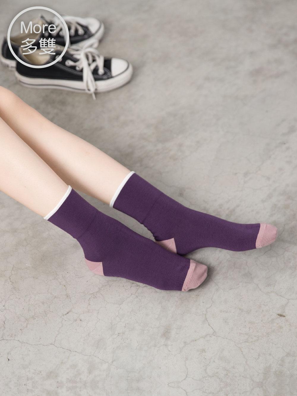 貝柔(5雙) Supima抗菌萊卡除臭襪-短襪(寬口2點睛)