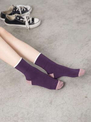 貝柔(女)Supima抗菌萊卡除臭襪-寬口短襪(2點睛)