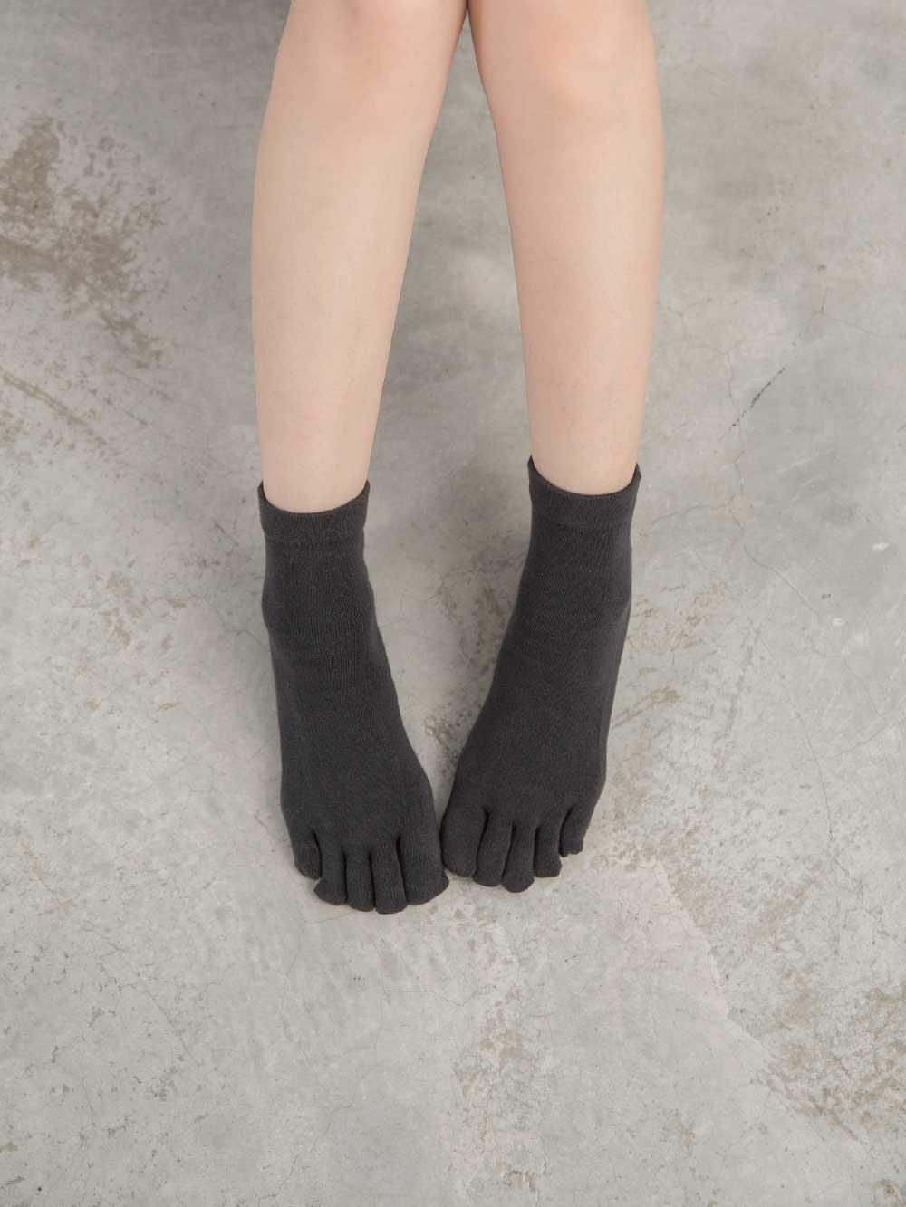 貝柔Supima抗菌機能除臭襪-短襪(五指襪)