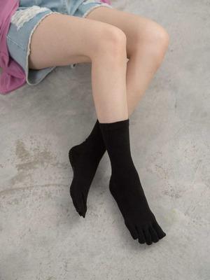 貝柔Supima抗菌機能除臭襪-長襪(五指襪)