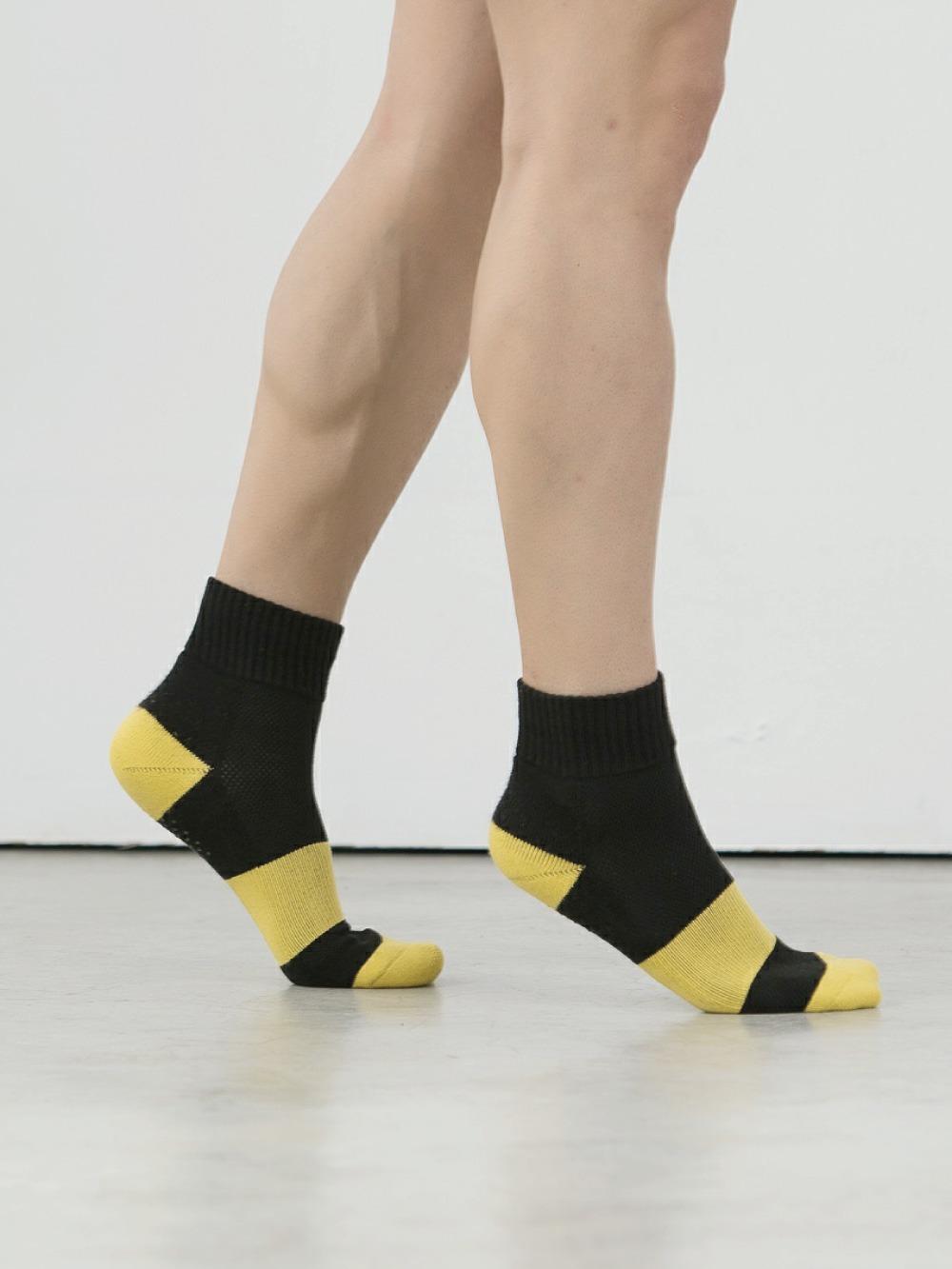 (單雙)(男)Supima抗菌萊卡除臭襪-氣墊短襪