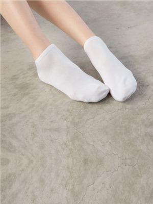 貝柔(2雙)Supima抗菌萊卡除臭襪-船型(女學生)