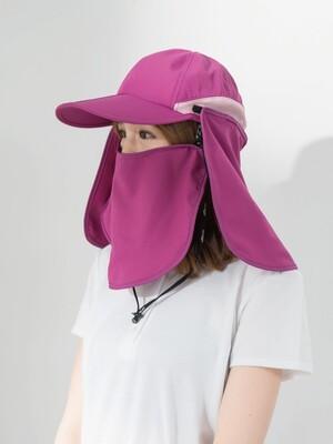 貝柔UPF50+多功能二折式休閒帽