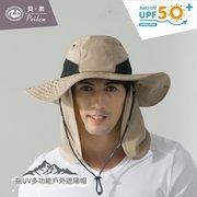 UV50+多功能休閒式遮陽帽-男