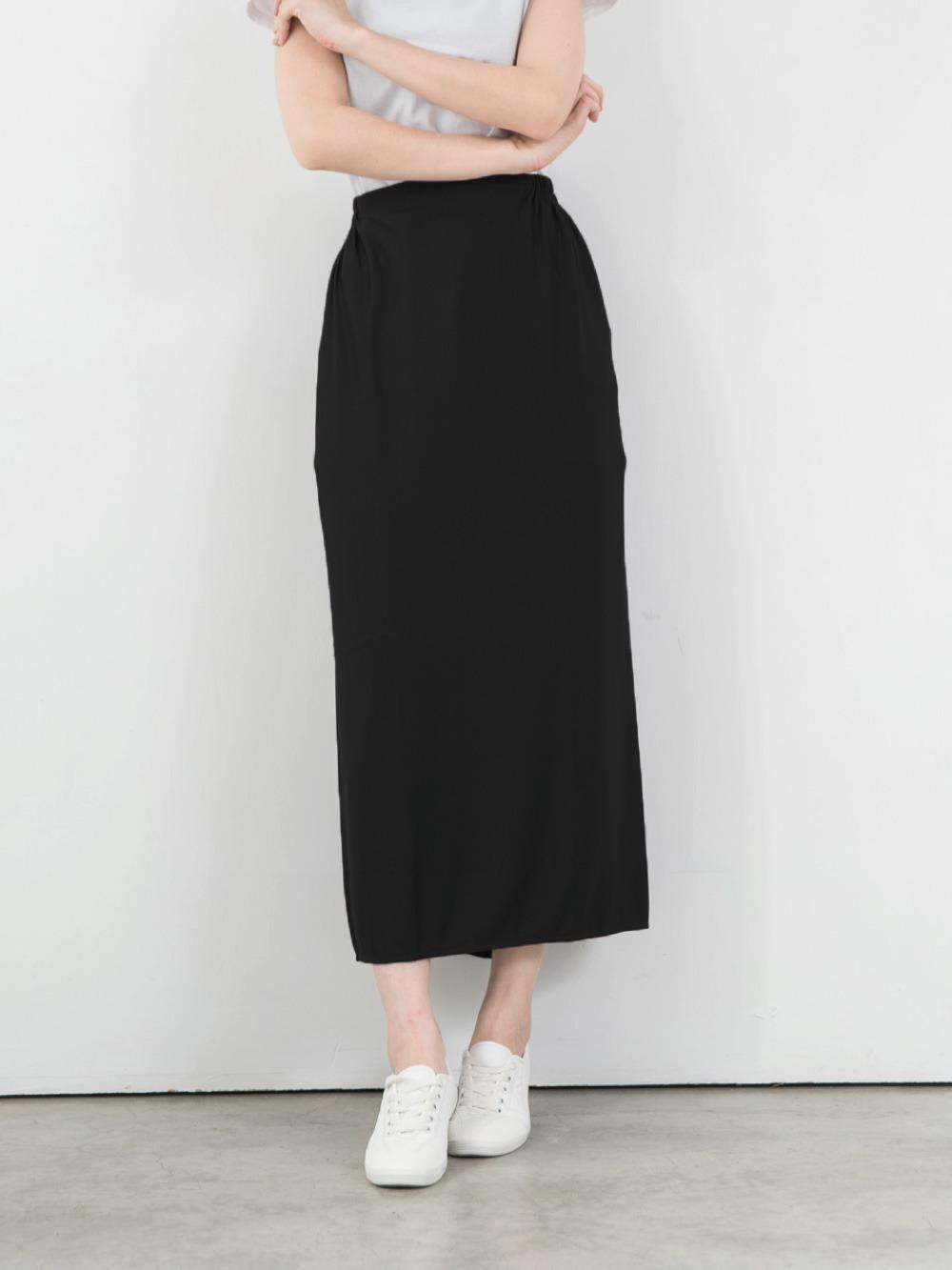 貝柔高透氣防曬遮陽裙-黑色